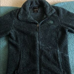 North Face Full Zip Sweater
